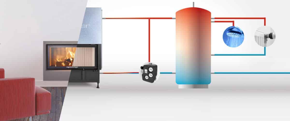 Fonctionnement cheminée hybride