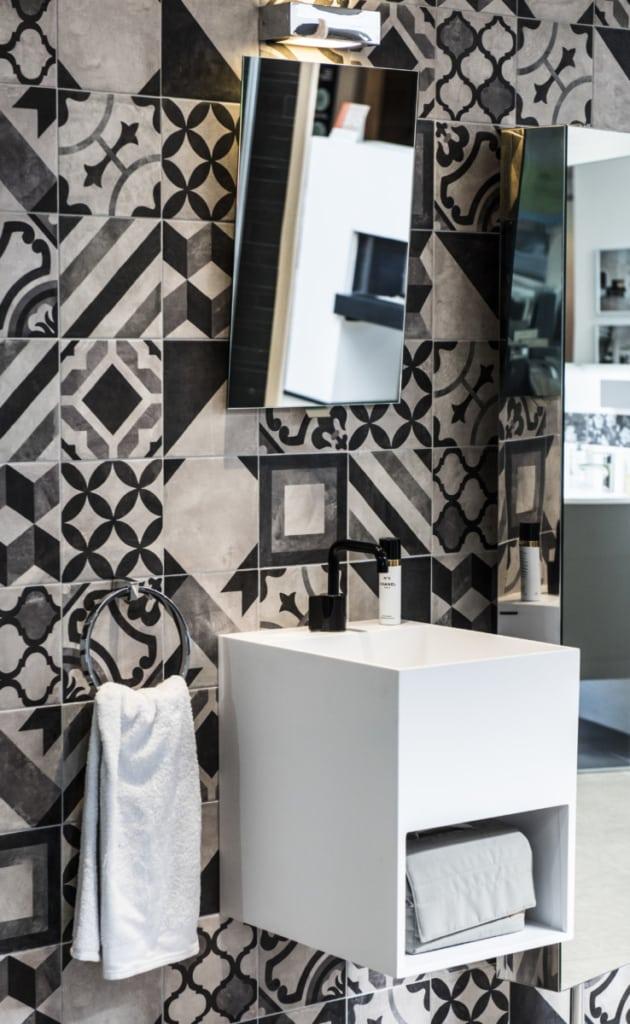 vasque salle de bain carrée