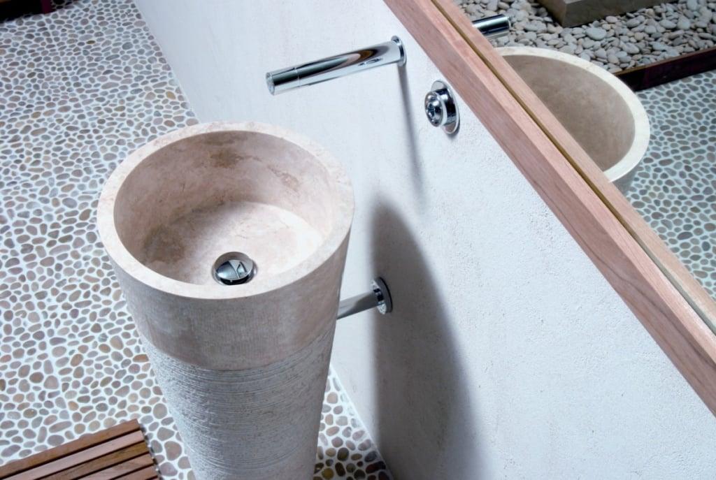 vasque salle de bain pierre