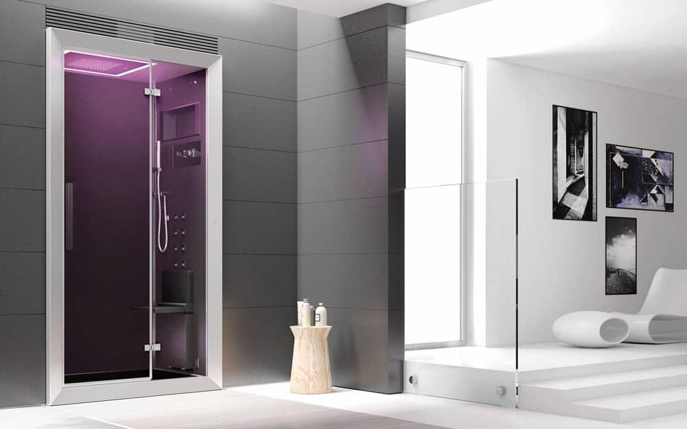 douche hydromassante cabine doccia