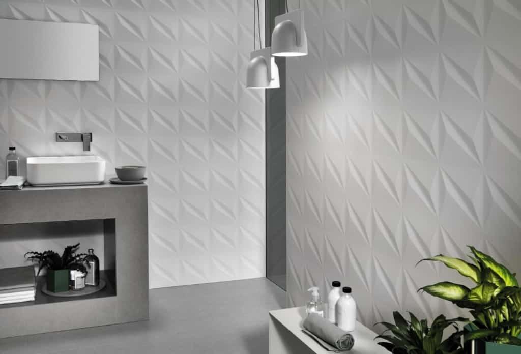 Carrelage salle de bain Flash 3D