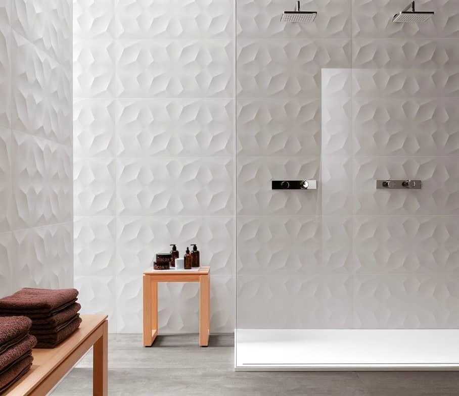 Carrelage salle de bain Diamond 3D