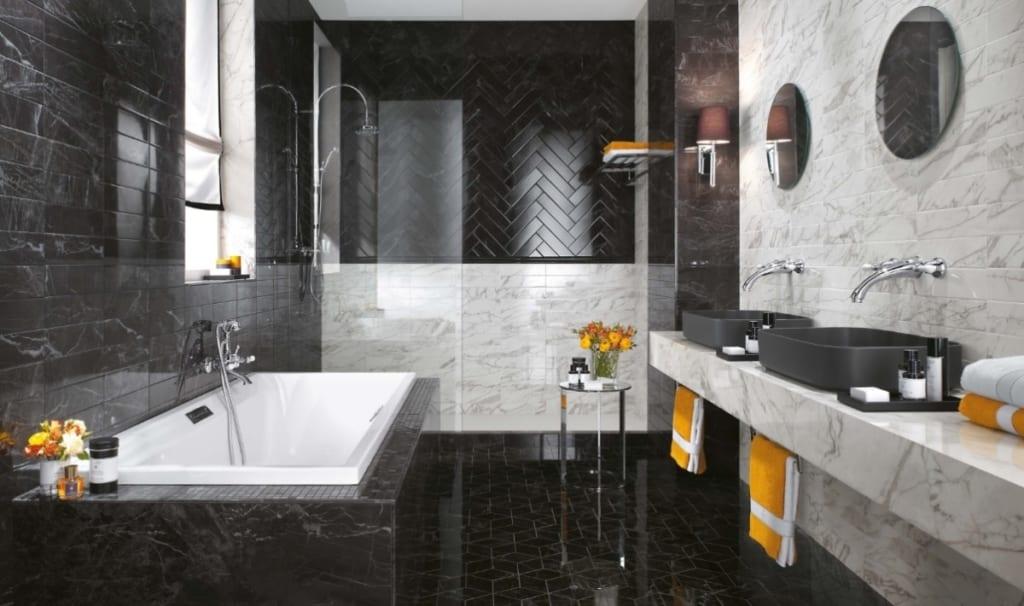 Carrelage salle de bain wall brick