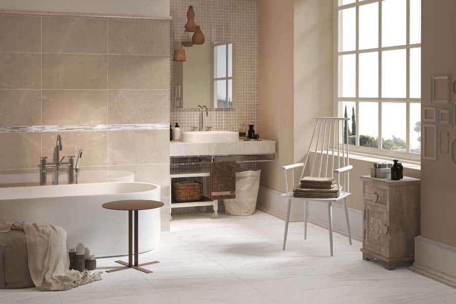 Carrelage salle de bain reveal