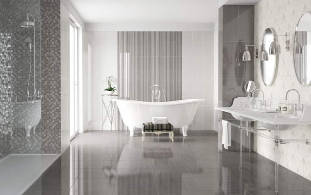Carrelage salle de bain soft