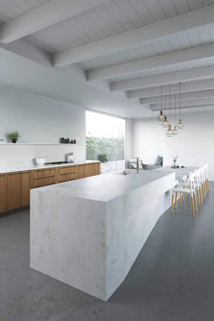 plan de travail de cuisine Dekton kitchen nilium