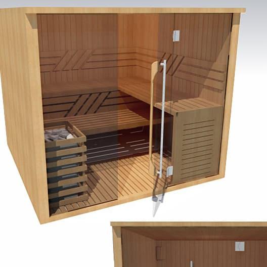 bureau d'étude cabine sauna