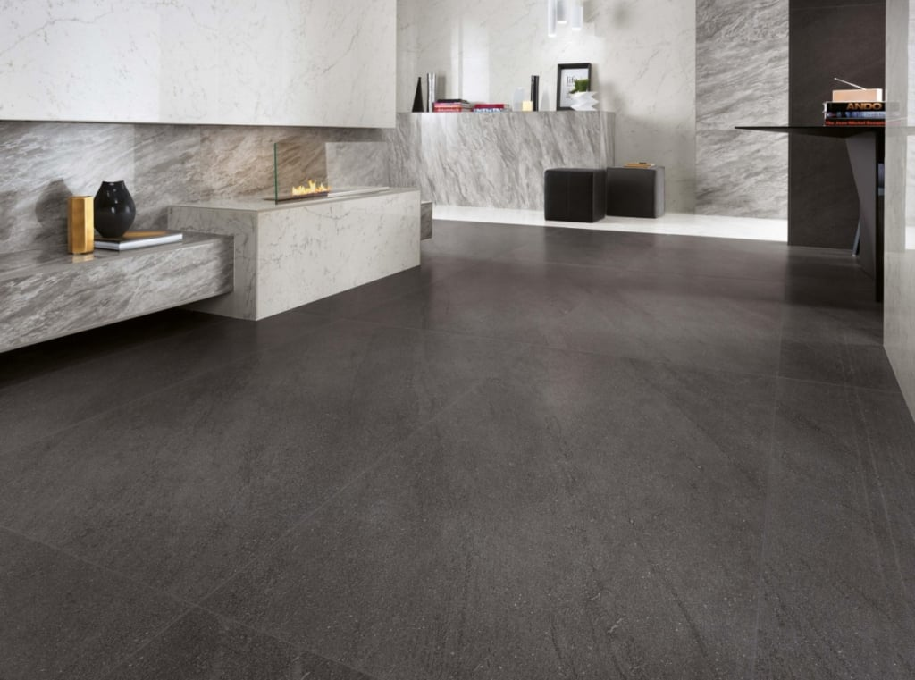 Carrelage XXL Marvelstone basaltina carrara