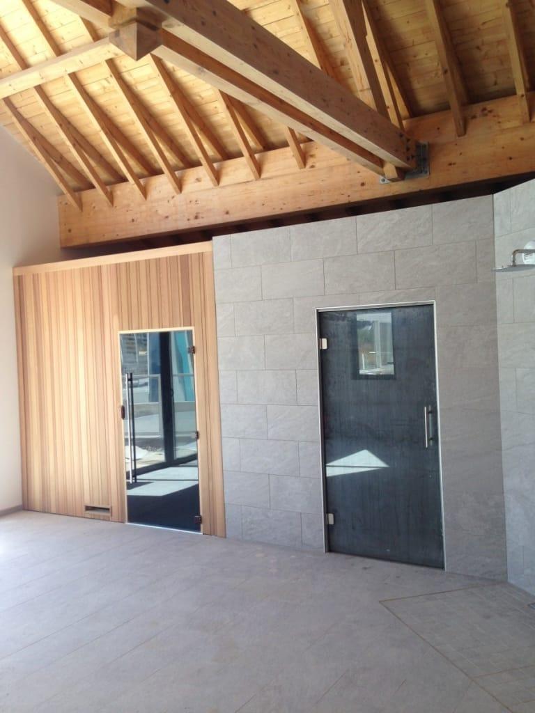 Cabine sauna Camping la roseliere
