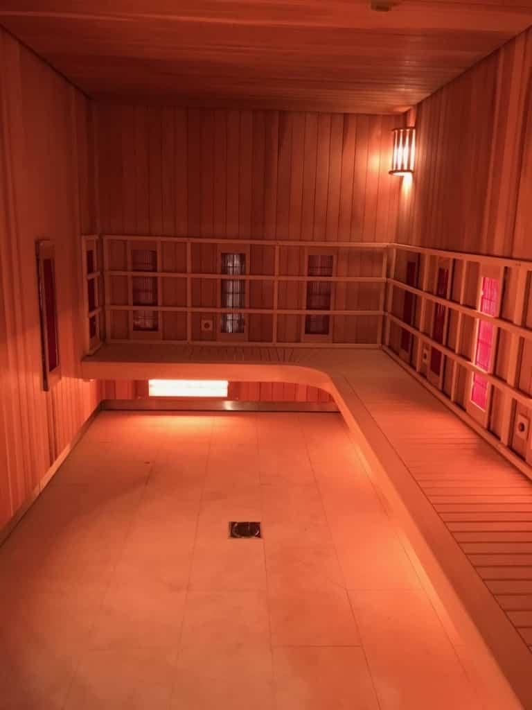 Cabine sauna infrarouge Hotel grand Hotel du Touquet