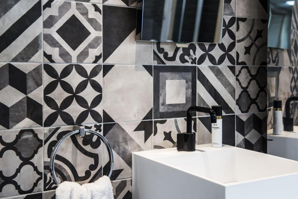 Carreaux de ciment Salle de bain Patchwork