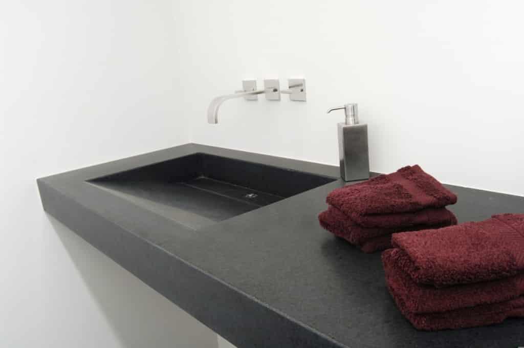 vasque plan de travail oriental basalt
