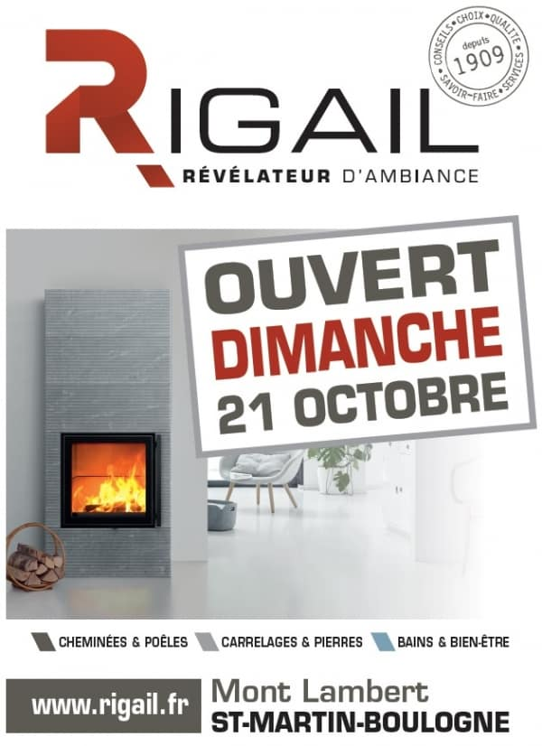 Affiche portes ouvertes Rigail octobre 2018