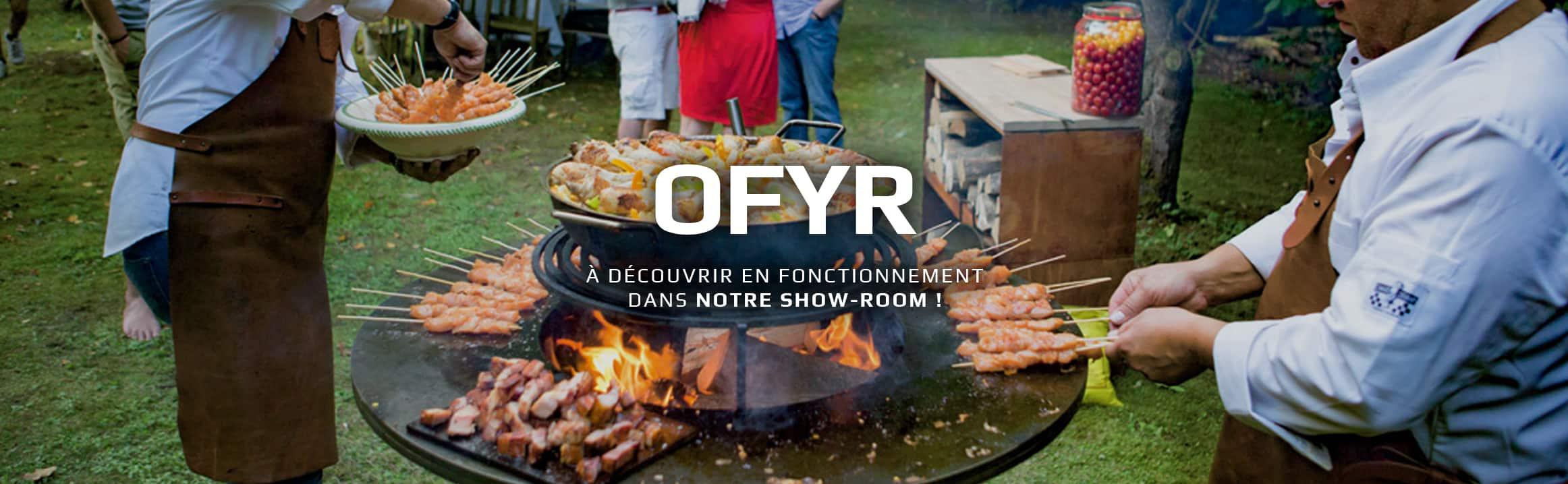 Découvrez le barbecue Ofyr chez Rigail