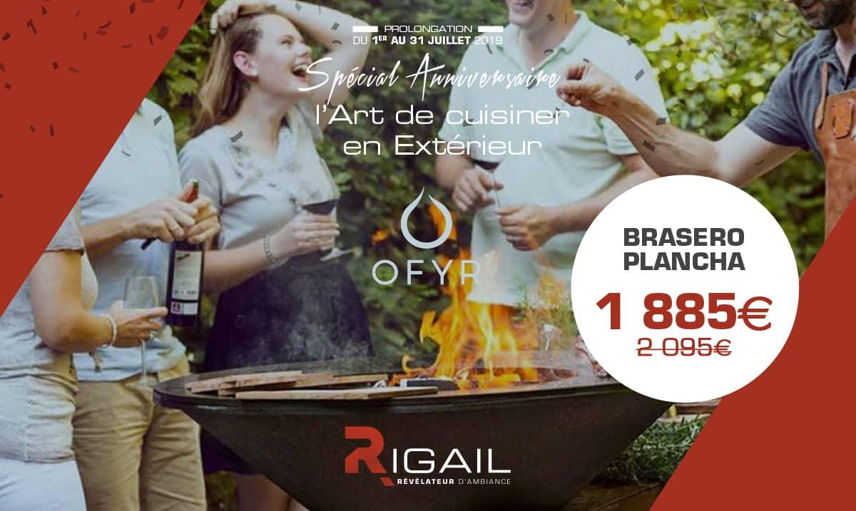 Offre barbecue brasero