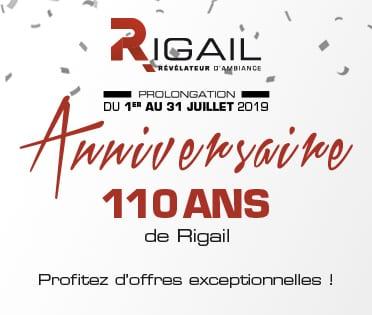 Offres anniversaire Rigail