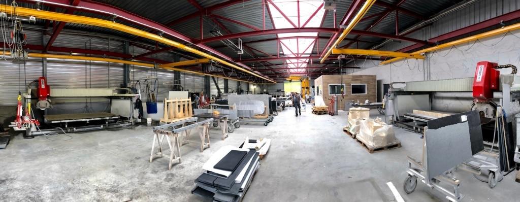 Notre atelier marbrerie