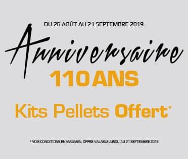 Kit bois pellets offert - Rigail