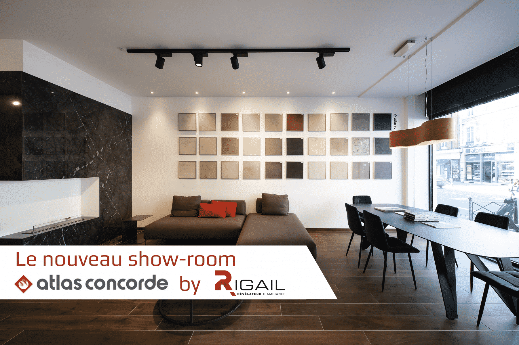show-room professionnel by Rigail